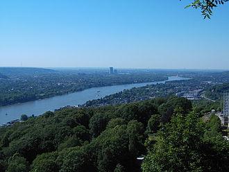 North Rhine-Westphalia - Rhine near Bonn