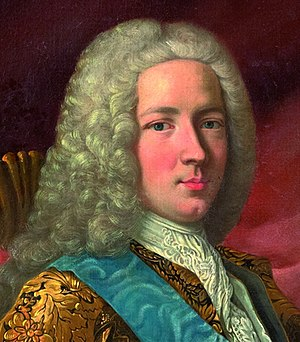 Jean-Frédéric Phélypeaux, Count of Maurepas - Portrait of Maurepas by Louis-Michel van Loo (1730)