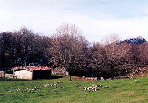 Aizkorri-Aratz Natural Park - A sheep barn in Aratz