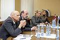 Boriss Cilevičs tiekas ar Izraēlas Valsts ārlietu ministra vietnieku (5689957634).jpg