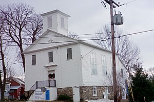 National Register of Historic Places listings in Onondaga County, New York - Image: Borodino Hall 2