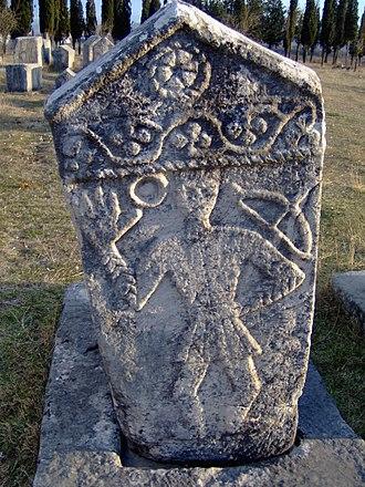 Vlachs - Medieval necropolise of Vlachs in Radimlja, Hercegovina