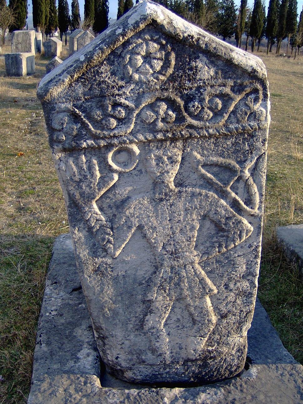 Bosniangraves bosniska gravar februari 2007 stecak stecci3