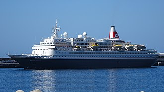 Fred. Olsen Cruise Lines - Image: Boudicca at Funchal 2016 (bigger)