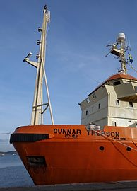 Bow mast of ship Gunnar Thorson.jpg