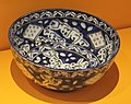 Bowl with epigraphic decoration - Iran - 1816-1817 - Ramadhan - Louvre Museum - AO 5975.jpg