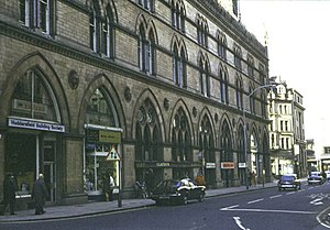 Benjamin Godwin - The Wool Exchange Building in Bradford