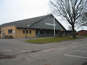 Brædstrup - Image: Braedstrup Hallen