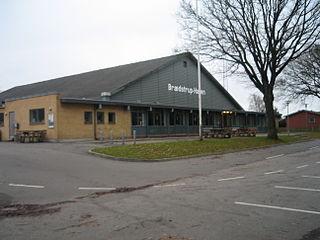 Brædstrup town in Denmark