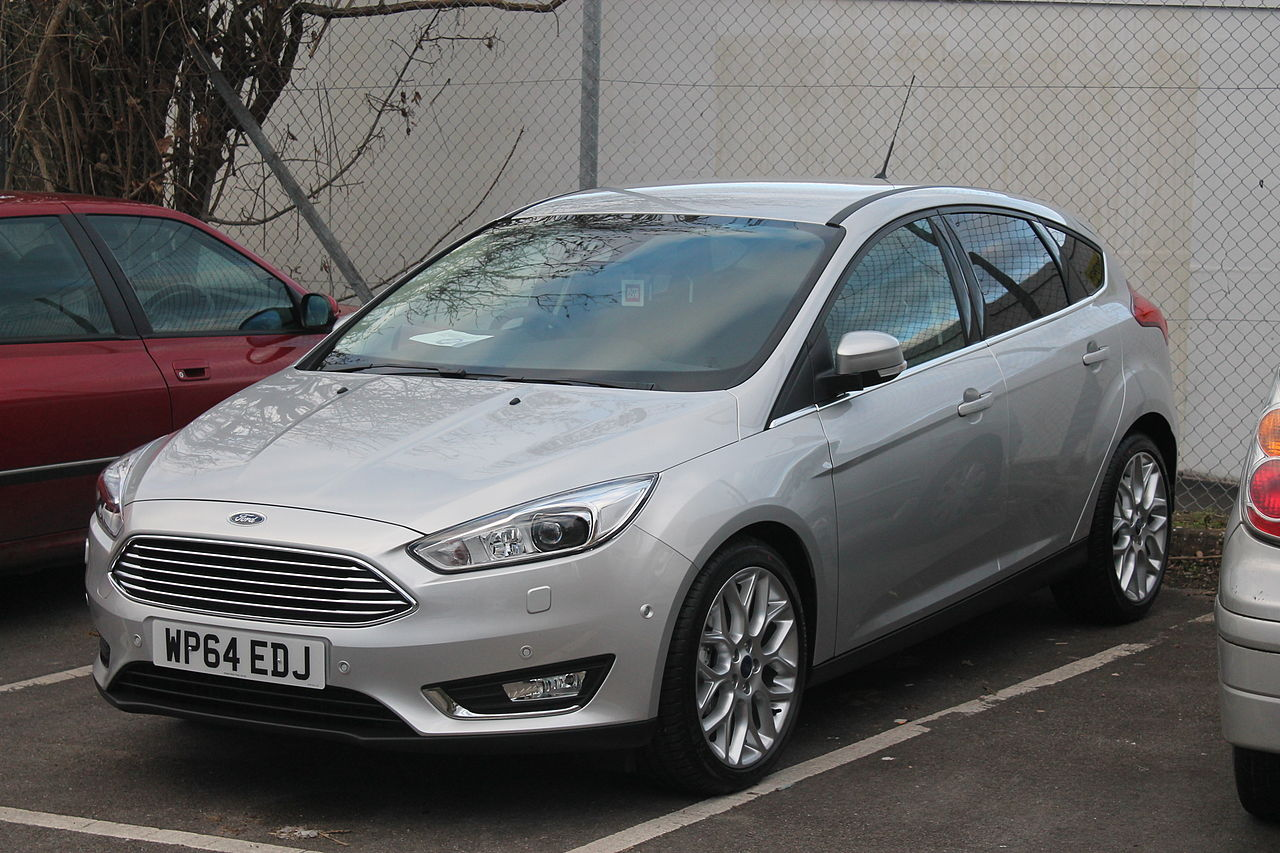 Brand new Ford Focus 1.0 Ecoboost (2014) (16063440736).jpg