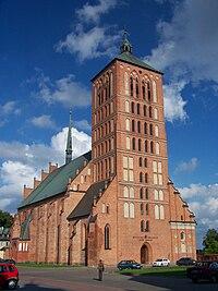 Braniewo - Bazylika mniejsza pw. św. Katarzyny.JPG