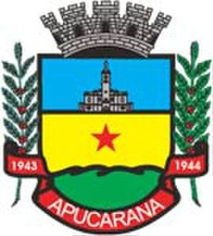 Apucarana - Image: Brasão Apucarana