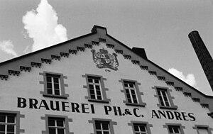 Kirn - Kallenfelser Straße (no number) – Andres brewery