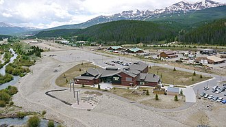 Colorado Mountain College - CMC Breckenridge campus view