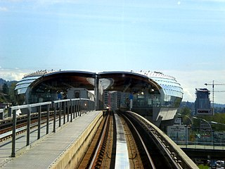 Brentwood Town Centre station Metro Vancouver SkyTrain station