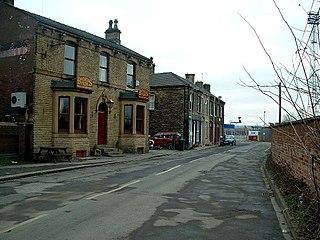 Healey, Ossett Village in West Yorkshire, England