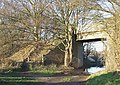 Bridge and Bridleway, Himley, Staffordshire - geograph.org.uk - 632972.jpg
