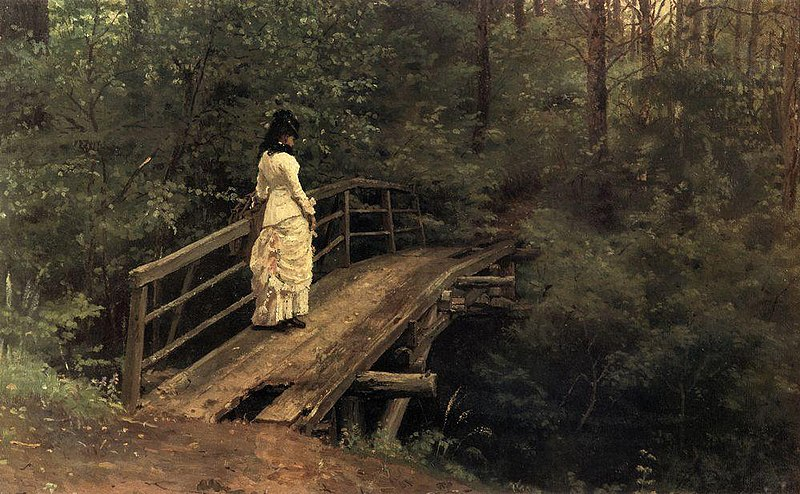 File:Bridge in Abramtsevo by Repin.jpg
