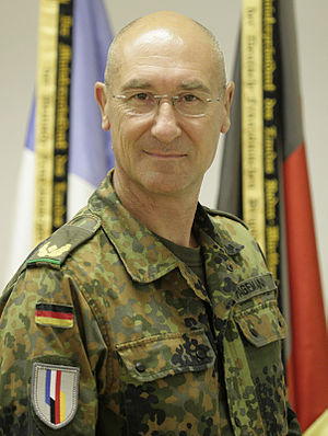 General of the Infantry (Germany) - Gert-Johannes Hagemann, General d. Inf. of the  Bundeswehr