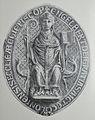 Brilon Stadtsiegel mit dem Bild St. Engelberts.JPG