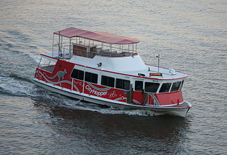Transdev Brisbane Ferries - CityHopper with upper deck