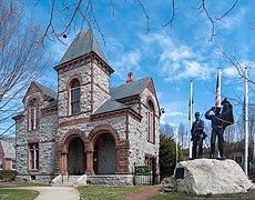 Bristol Rhode Island Town Hall and War Memorial