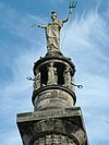 Britannia at the top of Nelson's monument. - geograph.org.uk - 268664.jpg
