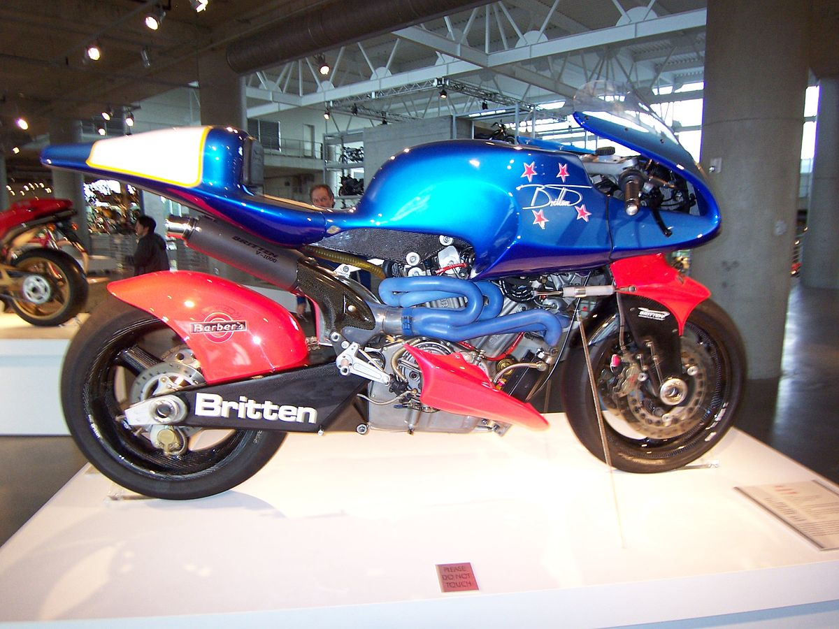 What Is Transmission >> Britten V1000 - Wikipedia