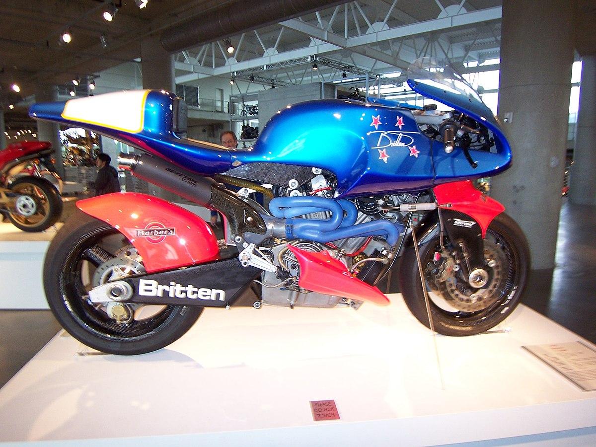 Engine And Transmission >> Britten V1000 - Wikipedia