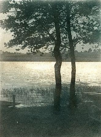 Oil print process - Bromoil print by Josef Jindřich Šechtl, 1920s