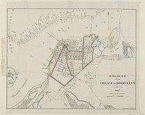 Brooklyn Museum - Hooker's Map of the Village of Brooklyn