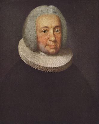 Hans Adolph Brorson - Hans Adolph Brorson; portrait by  Johan Hörner (1756)