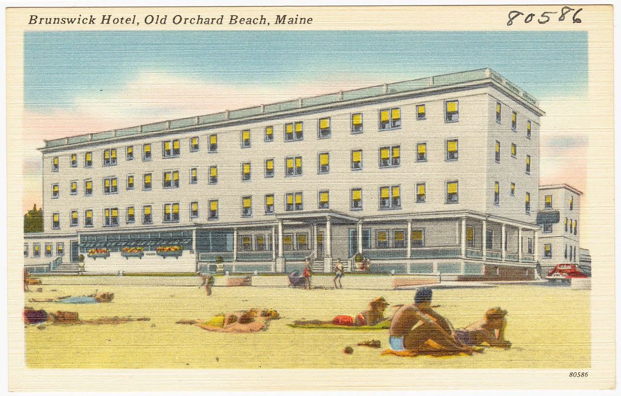 file brunswick hotel old orchard beach maine 80586 jpg. Black Bedroom Furniture Sets. Home Design Ideas
