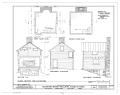 Buckhorn Manor, Kitchen, State Route 603, Bacova, Bath County, VA HABS VA,9-BACO.V,1A- (sheet 1 of 1).png