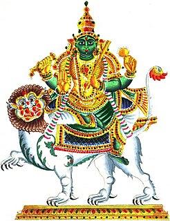 Budha Hindu deity