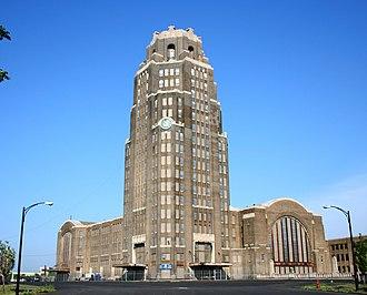 Alfred T. Fellheimer - Buffalo Central Terminal