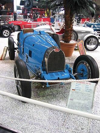 Bugatti Type 35 - Bugatti Type 35C in racing trim