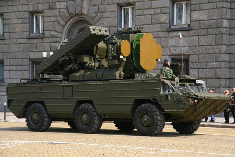 Bulgarian SA-8