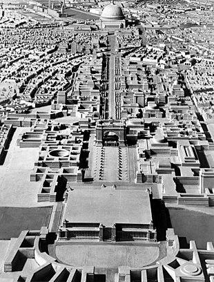 Alla stazione Berlino lo stadio Olimpico 1936 foto-CD