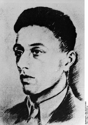 Herbert Baum - Herbert Baum, 1930 portrait from a photograph