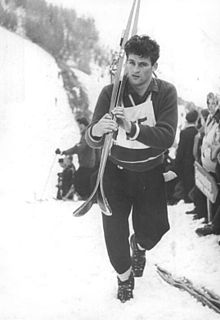 Bundesarchiv Bild 183-37342-0004, Oberwiesenthal, Oster-Skispringen, Helmut Recknagel