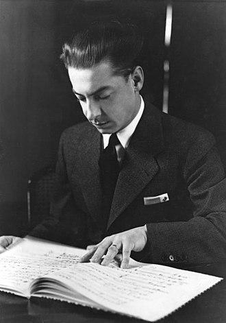 Philharmonia Orchestra - Herbert von Karajan (1938 photograph)