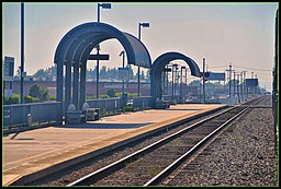 Burbank 'Bob Hope Airport' Amtrak Train Station - panoramio