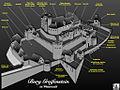 Burg Greifenstein , Rekonstruktionsversuch (8513112362).jpg