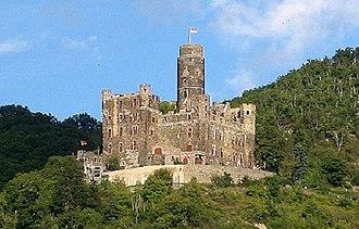 Maus Castle - Image: Burg maus