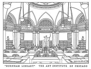 Ryerson & Burnham Libraries - The Burnham Library was founded in 1912