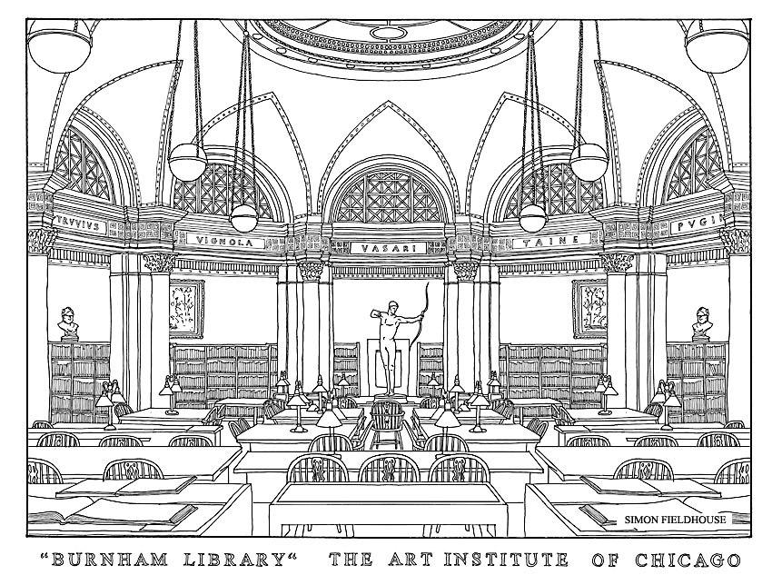 Burnham Library Simon Fieldhouse 1