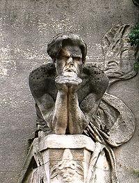 Cénotaphe de Baudelaire au Cimetière du Montparnasse