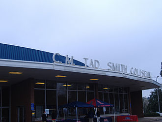 Tad Smith Coliseum - Image: C.M. Tad Smith Coliseum