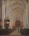 C.O. Zeuthen - Det indre af Trinitatis Kirke - KMS340 - Statens Museum for Kunst.jpg